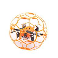 RC Drone M70 4 Kanal 6 Akse 2.4G - Fjernstyret quadcopter LED-belysning 360 Graders Flyvning Svæve Fjernstyret Quadcopter Fjernstyring 1