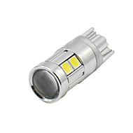 4x t10 2017 új fehér 9 3030 vezetett autó auto ék fények parkoló izzó lámpa 12v 24v