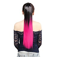 Αλογορουρές Συνθετικά μαλλιά Κομμάτι μαλλιών Hair Extension Ίσιο / Ίσια / Ombre