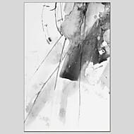 voordelige -Hang-geschilderd olieverfschilderij Handgeschilderde - Abstract Hedendaags Kangas