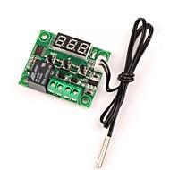 12v dc termostato de aquecimento / aquecimento térmico controle de temperatura -50-110 c controlador de temperatura 10a relé com sensor de