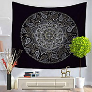 Wand-Dekor 100% Polyester Künstlerisch Muster Wandkunst,Wandteppiche von 1