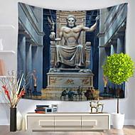 billige Veggdekor-Arkitektur Veggdekor 100% Polyester Kunstnerisk Mønstret Veggkunst, Veggtepper Dekorasjon