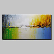 Large Hand Painted Modern Abstract Oil Painting On Canvas Wall Art Picture For Home Decoration Ready To Hang