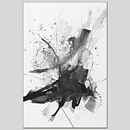 voordelige -Hang-geschilderd olieverfschilderij Handgeschilderde - Abstract Chic & Modern Kangas