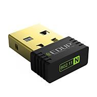 Edup usb adaptor wifi wireless 150mbps card de rețea fără fir ep-n8553