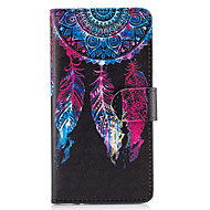 billiga Mobil cases & Skärmskydd-fodral Till Sony Z5 / Sony Xperia M4 Aqua / Sony Xperia M2 Plånbok / Korthållare / med stativ Fodral Drömfångare Hårt PU läder för Sony Xperia Z5 Premium / Sony Xperia Z5 / Sony Xperia XZ Premium