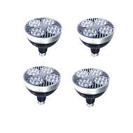 billige Spotlys med LED-4stk 25W 2000lm E27 LED PAR-lamper PAR30 LED perler Høyeffekts-LED Varm hvit / Hvit 220-240V