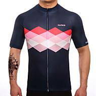 SUREA Muškarci Kratkih rukava Biciklistička majica Bicikl Biciklistička majica, Quick dry, Prozračnost, Izzadás-elvezető
