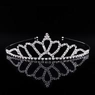 Kristal / Strass / Legering tiaras / hikinauhat met 1 Bruiloft / Speciale gelegenheden / Feest / Uitgaan Helm