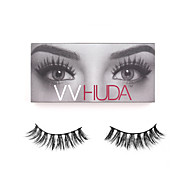 VVHUDA LASHES Mink Natural Eyelashes 3D Eye Makeup Collection Soft Fibers Easy Wear Beauty Tool Carmen