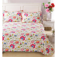Duvet Cover Floral 1 Piece Reactive Print 1pc Duvet Cover