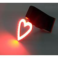 billige Sykkellykter og reflekser-Sykkellykter LED Sykling Nuttet Mini Stil Utendørs designere USB Lumens Usb Rød Dagligdags Brug
