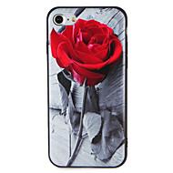 Kotelo omena iphone 7 plus 7 kansi kohokuvioitu kuvio takakannen tapauksessa kukka pehmeä tpu 6s plus 6 plus 6s 6 5 5s