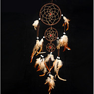 Wall Decor Polyresin Contemporary Wall Art,Dreamcatcher of 1