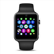 tanie Inteligentne zegarki-Inteligentny zegarek Ekran dotykowy Pulsometr Wodoszczelny Spalone kalorie Krokomierze Rejestr ćwiczeń Kamera/aparat Śledzenie odległości