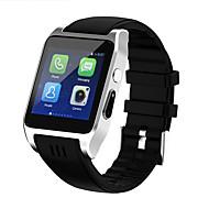 tanie Inteligentne zegarki-Inteligentny zegarek YYX86 na iOS / Android Pulsometr / Spalone kalorie / Długi czas czuwania / Odbieranie bez użycia rąk / Ekran dotykowy Pulse Tracker / Stoper / Krokomierz / Rejestrator aktywności