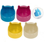 Hamsteri Silikoni Kulhot ja vesipullot Valkoinen Keltainen Sininen Pinkki