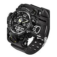 SANDA Homens Relógio de Moda Relógio de Pulso Relógio Esportivo Relógio Militar Relógio inteligente Japanês Digital LED Noctilucente Dois