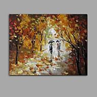 Handgeschilderde Landschap Abstract Eén paneel Canvas Hang-geschilderd olieverfschilderij For Huisdecoratie