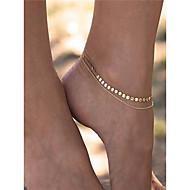 女性用 アンクレット/ブレスレット 銅 ファッション コスチュームジュエリー ジュエリー 用途 日常着 日常 カジュアル カジュアル/普段着