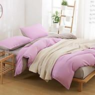 cheap Solid Duvet Covers-Zebra 4 Piece Cotton Cotton 1pc Duvet Cover 2pcs Shams 1pc Flat Sheet