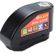 billige Tastelåser-A6 Sykkellås Stållegering alarm / Nøkkelopplåsing til Sykkel