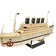 3Dパズル ジグソーパズル モデル作成キット 船 DIY シミュレーション 木製 クラシック 成人 男女兼用 おもちゃ ギフト