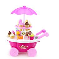 cheap Dress Up & Pretend Play-Ice Cream Cart Toy Toy Car Toy Food / Play Food Pretend Play Ship Ice Cream Simulation Plastics Plastic Girls' Kid's Gift 1pcs