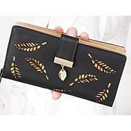 Women Bags All Seasons PU Polyester Coin Purse for Blue Black Blushing Pink