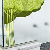 tanie סרטים ומדבקות לחלון-Drzewa/Listki Naklejka okienna, PVC/Vinyl Materiał Dekoracja okna Salon Łazienka Shop / Cafe Kuchnia