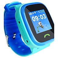 Crianças Relógio de Moda Relógio de Pulso Relógio inteligente Digital Borracha Banda Azul Prata Rosa