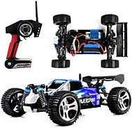 RC auta WL Toys A959 2.4G Off Road Auto Vysokorychlostní 4WD Drift Car Automobil 1:18 Kartáčový elektro 45 KM / H Dálkový ovladač