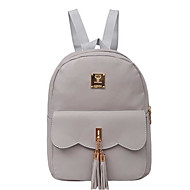 Women Bags PU Backpack for Casual All Seasons Black Blushing Pink Gray