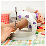 cheap Storage & Organization-Handheld sewing machines Dual Speed Double Thread Multifunction Electric Mini Automatic Tread Rewind Sewing Machine
