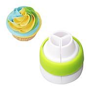 billige Bakeredskap-1 Deler Cake Moulds Nyhet Dagligdags Brug Plastikker baking Tool