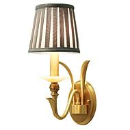 baratos Arandelas de Parede-Tifani Simples Regional Tradicional / Clássico Luminárias de parede Para Metal Luz de parede 110-120V 220-240V 5W