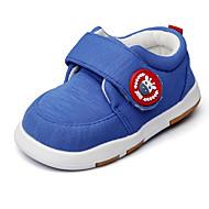baratos Sapatos de Menino-Para Meninos Sapatos Tecido Primavera / Outono Primeiros Passos / Solados com Luzes Rasos Velcro para Azul Real / Casamento / Festas & Noite