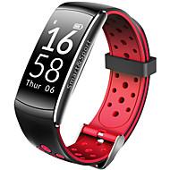 q8 bracelete inteligente monitor de frequência cardíaca tracker bluetooth pulseira monitor impermeável sport smartband android iOS