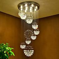 billige Takbelysning og vifter-Lysekroner Nedlys - Krystall, Kunstnerisk Natur-inspireret LED Chic & Moderne Globus Land Traditionel / Klassisk Moderne / Nutidig,