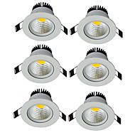 Led-Nedlys Varm hvit Kjølig hvit LED 6