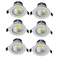 LEDダウンライト 温白色 クールホワイト LED 6