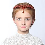 tanie Akcesoria dla dzieci-Akcesoria do włosów - Dla dziewczynek - Na każdy sezon - Stop Silver Czerwony