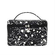 Damen Taschen Ganzjährig Nylon Kosmetik Tasche für Normal Schwarz