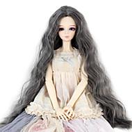 Naisten Synteettiset peruukit perverssi Harmaa Doll Wig puku Peruukit