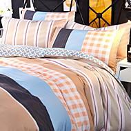 טוואל 4 חלקים כיסוי שמיכת יחידה 1 כריות מיטה 2 יחידות סדין יחידה 1