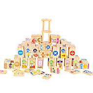 Rakennuspalikat Domino ja pulmapelit Lelut Neliö Lasten Pieces