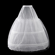 cheap Lolita Dresses-Classic Lolita Lolita Women's Petticoat Cosplay White Floor Length Long Length