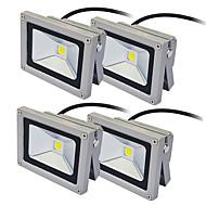 tanie Naświetlacze-JIAWEN 10W Reflektory LED Dekoracyjna Obuwie turystyczne Oświetlenie zwenętrzne Ciepła biel Zimna biel AC 85-265V