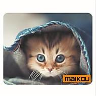 Maikou hiirimatto kissa käyttää silmälasit pc matto tietokone toimittaa lisälaite